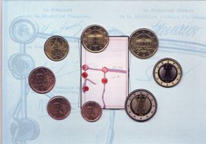 Euro Münzen Siewert 2003 388 Euro St Frankreich Kms