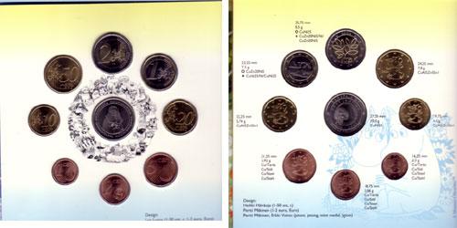 Euro Münzen Siewert Finnland 2004 388 Tove Jansson Kms Moomin Eu